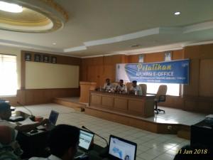 Badan Keuangan Daerah Mengikuti Pelatihan Aplikasi E-Office